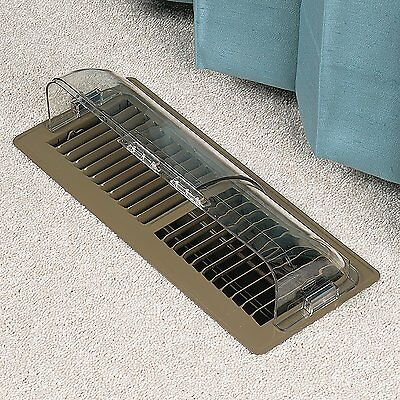 Air Conditioner Deflector Heating Floor Register Ceiling Air Vent Magnetic Cover