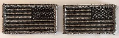 "3 1/4"" Reverse ACU Subdued United States US Flag Patch Hook & Loop Fastener"