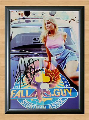 Heather Thomas The Fall Guy Signed Autographed A4 Photo Print Poster Memorabilia