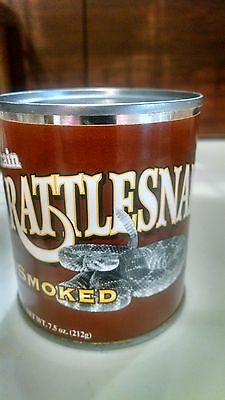 Rattlesnake Meat Canned