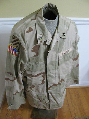 U.S. Army PFC's Third Infantry Division Desert Combat Uniform Jacket