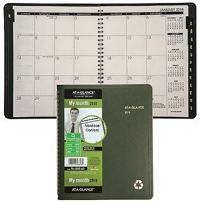 """2018 At-A-Glance 70-120G 70-120G-60 Monthly Planner, 6-7/8 x 8-3/4"""""""