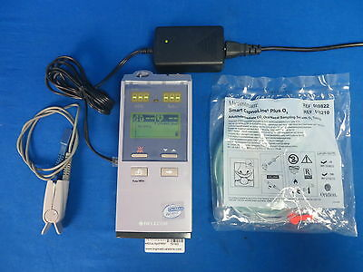 Nellcor N85 Capnograph Handheld Co2 SPO2 Meter with Accessories, 90 Day Warranty