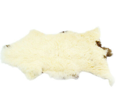 100% Genuine Sheepskin Real LUXURY Rug soft wool natural hand made traditional