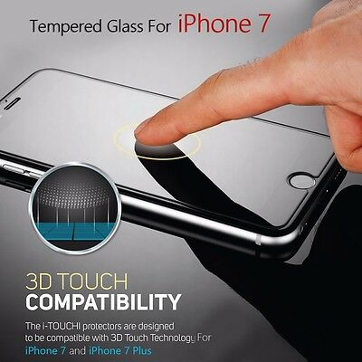 "3-Pack 3D Touch Tempered Glass Screen Protector For Apple iPhone 7 (4.7"")"