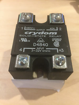 CRYDOM Solid State Relay D4840
