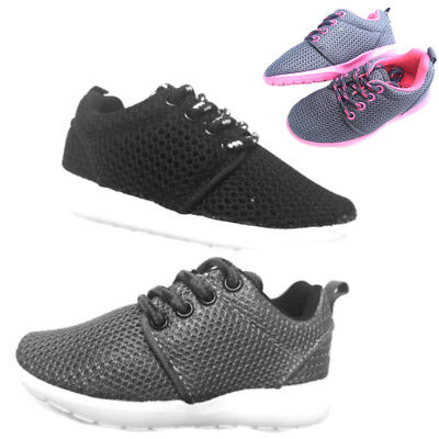 New baby toddler boys girls sneakers tennis shoes black, gray color size 4-9
