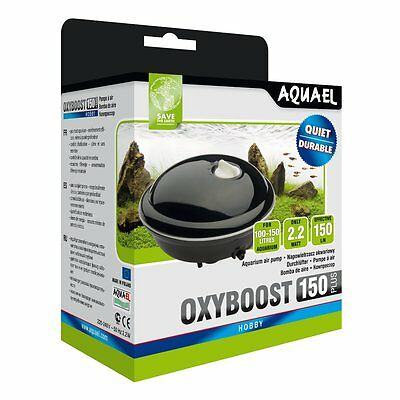 Aquael Pompe a air OXYBOOST APR 150 Plus - Membrane lüfterpumpe aérien aquariums