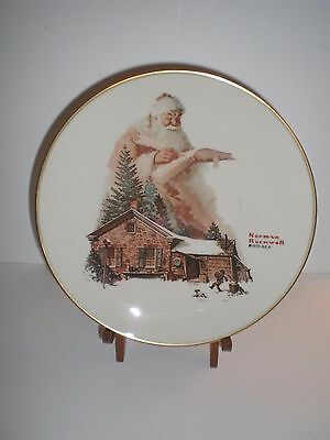Gorham Fine China; Norman Rockwell 1975 Collector Plate; Good Deeds