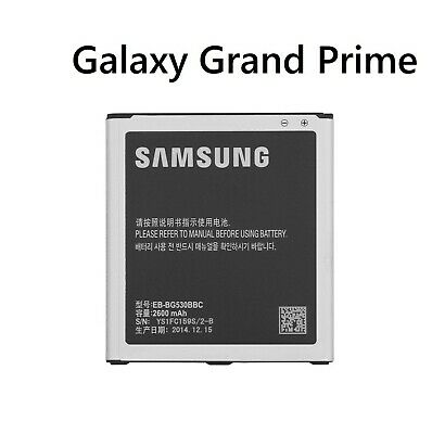 For Samsung Galaxy Grand Prime G530 Battery Genuine 2600mAh 9.88Whr EB-BG530BBC