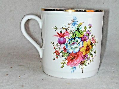 Hammersley Bone China Floral Mug Cup Made In England Excellent Condition