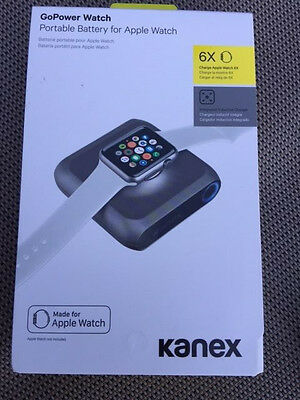 NEW Kanex GoPower Watch Portable Battery for Apple Watch K168-1066 SEALED