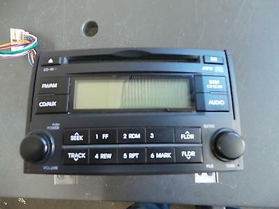 Hyundai Iload/imax Radio/cd/dvd/sat/tv Radio/cd Player, Tq, Black Face, W/o Blue
