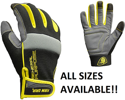 Firm Grip General Purpose Work Gloves AVAILABLE IN SMALL, MEDIUM, LARGE, XL, XXL