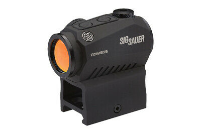 Sig Romeo5 Compact Red Dot Sight, 2 Moa, 1X20Mm