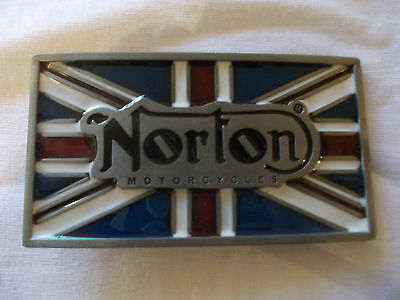 Norton Motorcycles Belt Buckle
