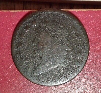 1812 large cent classic head small date s-291