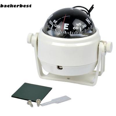 New Sea Marine Electronic Digital Compass Boat Caravan Truck 12V LED Light