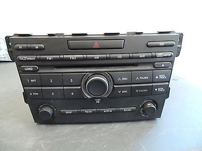 Mazda Cx7 Radio/cd/dvd/sat/tv 6 Cd Stacker, Er, 10/09-02/12 09 10 11 12