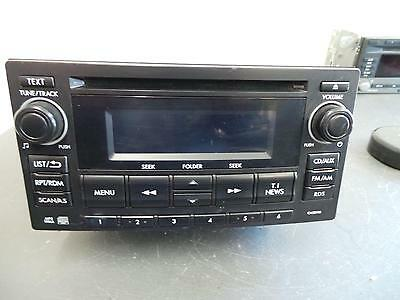Subaru Impreza Radio/cd/dvd/sat/tv Cd Player, G4, 12/11- 11 12 13 14 15 16 17