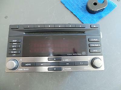 Subaru Impreza Radio/cd/dvd/sat/tv Cd Player, 08/07-11/11 07 08 09 10 11