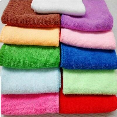 3 Pack Tea Towels Set Terry Cotton Kitchen Dish Cloths Large Cleaning Cloth