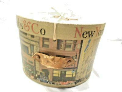 Vintage Hat Box, Dobbs & Co. Fifth Avenue, New York