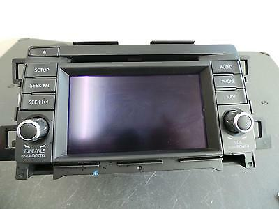 Mazda Cx5 Radio/cd/dvd/sat/tv Sat Nav, Non Touch Screen Type, Ke, 02/12- 12 13 1