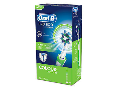 Oralb PRO 600 CROSSACTION verde
