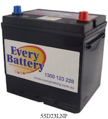 Toyota Camry Car Battery Altise (Camry) 2003 onwards 55D23LNP 3 year warranty HE