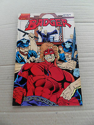 The Badger 7 . First .1985 . FN / VF