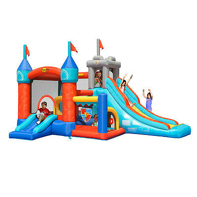 Jumping Castle Kinght 13 In 1 Party Event Childrens  *MELB HIRE ONLY**