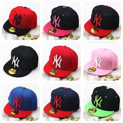 New Hip-Hop Hat Baseball Cap Adjustable NY Snapback Sports Unisex sticker cool