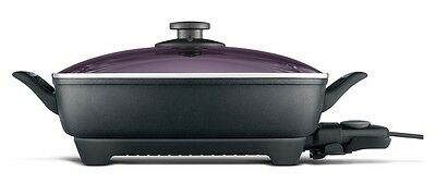 Breville The Banquet Extra Deep Thermal Pro Electric Frypan 2400W BEF250GRY