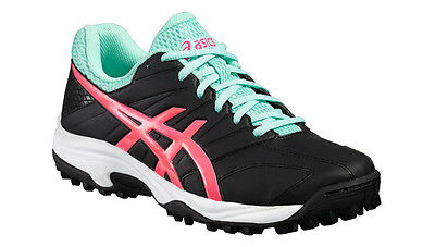 Asics Lethal MP 7 Hockeyschuhe Feldhockey Fieldhockey black pink mint
