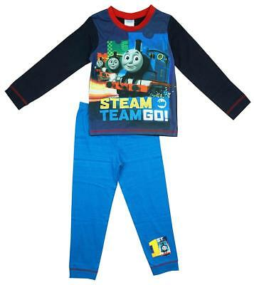 Boys Pyjamas Thomas The Tank Pjs Engine Percy Steam Train 18 Months to 5 Years