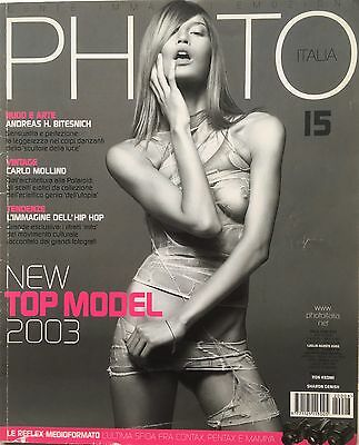 PHOTO ITALIA PHOTOGRAPHY MAGAZINE nr.15 Top model 2003