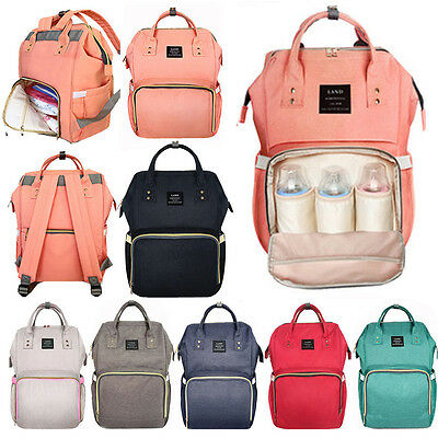 11 Multifunctional Mummy Maternity Backpack Nappy Bag Large Capacity Diaper Bag
