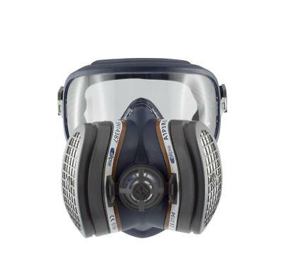 Eipse Integra A1P3 Paint Spray Mask Respirator - Eye Protection and A1P3