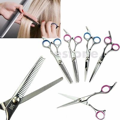 Professional Barber Salon Hair Cutting Thinning Scissors Shears Hairdressing
