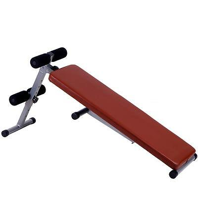Sit Up Bank Bauchtrainer Trainingsbank Bauchmuskeltrainer Hantelbank Fitnessbank
