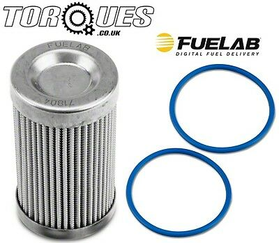 Fuelab 6 Micron Microglass Ethanol Element For ORB-10 Fuel Filters #71804