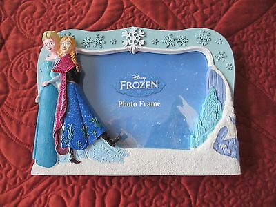 Frozen Frame Tabletop Frame With Elsa And Anna 4 X 6 Inch New Disney