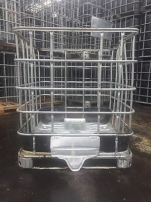 ibc cage/crate ideal for logs, bricks, construction, storage