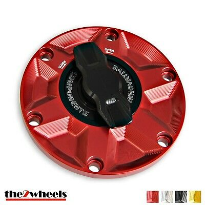 1/4 Turn Rapid Open Racing Fuel Gas Cap MV Agusta Brutale Dragster 800 /RR 14-16