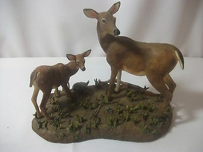 "Danbury Mint Vintage"" First Outing"" Deer Figurine in Original Shipping Box"