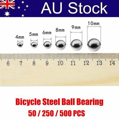 50/250/500PCS Replacement Parts 4mm 5mm 6mm 10mm Bike Bicycle Steel Ball Bearing