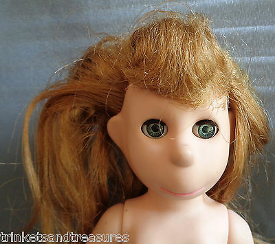 "Vinyl Doll Poor Pitiful Pearl A Brookglad Creation Vintage 1950s 60s 12.5"" Nude"