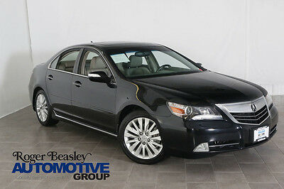 2012 Acura RL Base Sedan 4-Door 2012 ACURA RL TECHNOLOGOY PACKAGE LEATHER SUNROOF