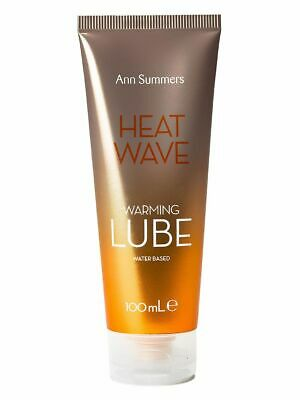Ann Summers Heat Wave Warming Lube 100ml Lubricant Gel Intimate Sex Foreplay